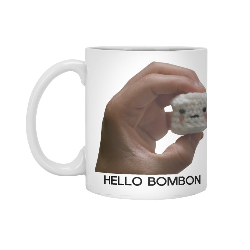 HELLO BOMBON Accessories Mug by ZuniReds's Artist Shop