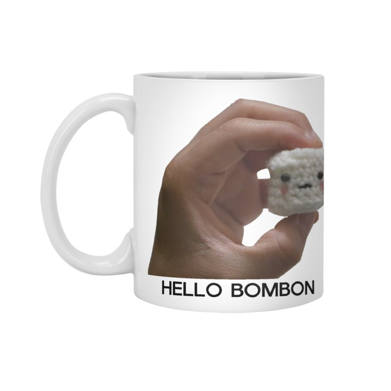 HELLO BOMBON Accessories Standard Mug by ZuniReds's Artist Shop