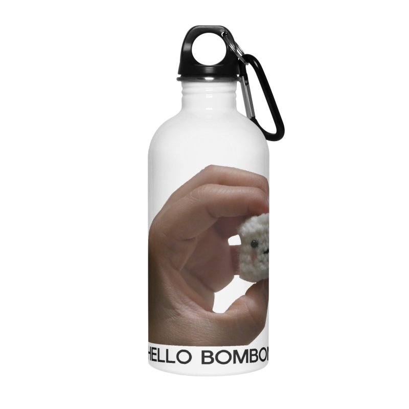 HELLO BOMBON Accessories Water Bottle by ZuniReds's Artist Shop
