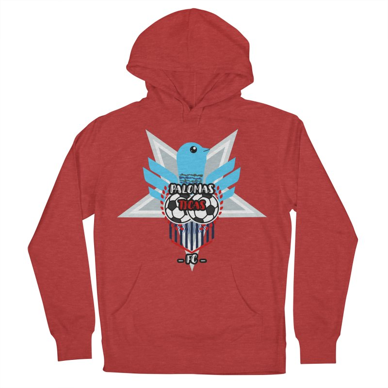 Palomas Ticas Sport Men's French Terry Pullover Hoody by ZuniReds's Artist Shop