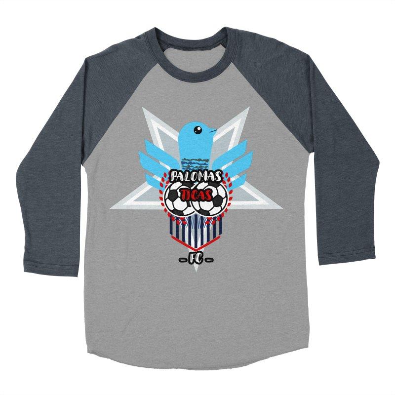 Palomas Ticas Sport Men's Baseball Triblend Longsleeve T-Shirt by ZuniReds's Artist Shop