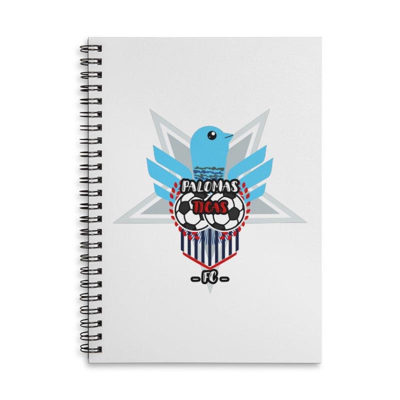 Palomas Ticas Sport Accessories Lined Spiral Notebook by ZuniReds's Artist Shop