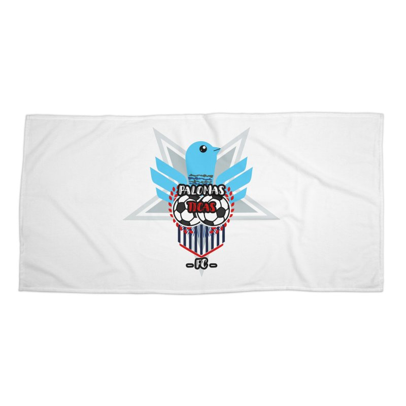 Palomas Ticas Sport Accessories Beach Towel by ZuniReds's Artist Shop