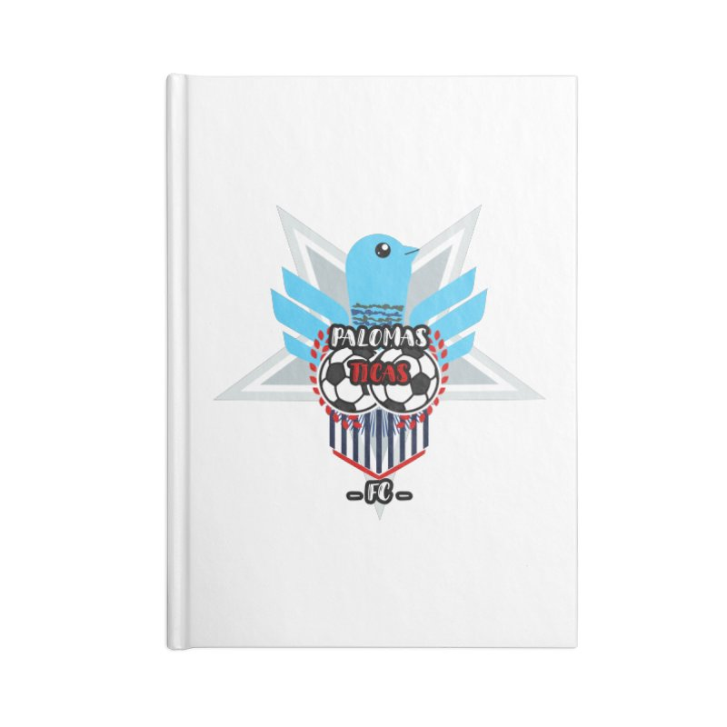 Palomas Ticas Sport Accessories Lined Journal Notebook by ZuniReds's Artist Shop