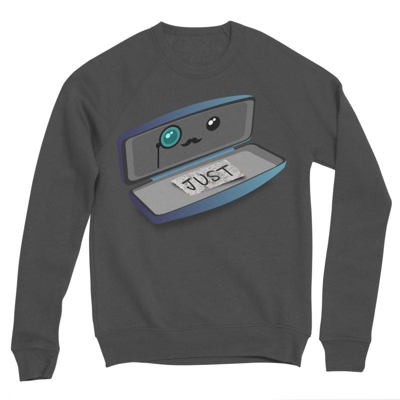Just in case Men's Sponge Fleece Sweatshirt by ZuniReds's Artist Shop