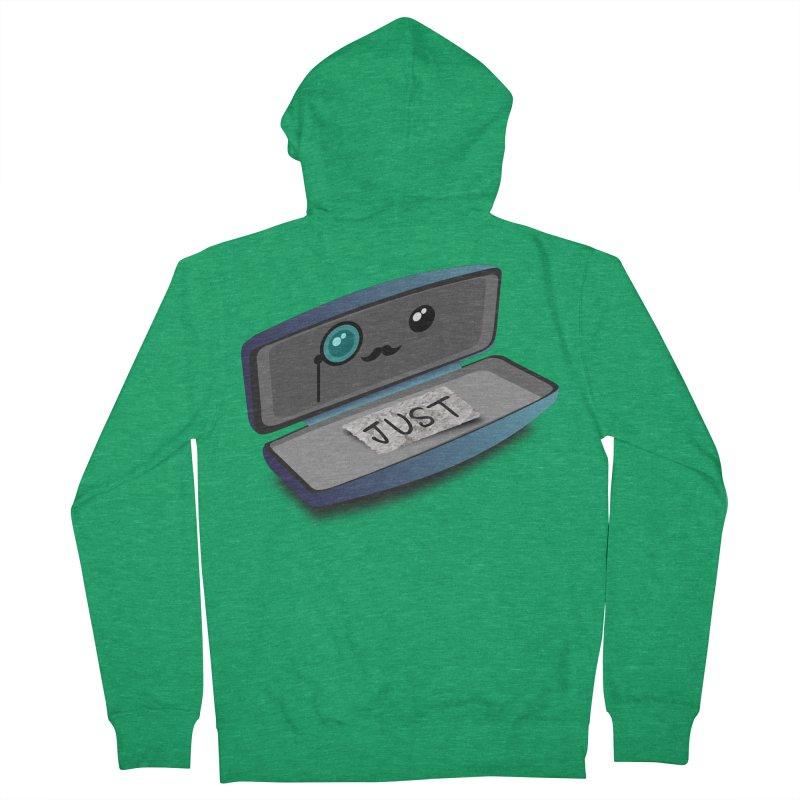 Just in case Men's Zip-Up Hoody by ZuniReds's Artist Shop