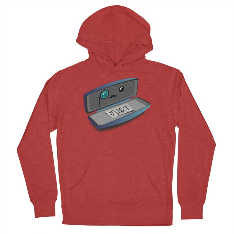 Just in case Men's French Terry Pullover Hoody by ZuniReds's Artist Shop
