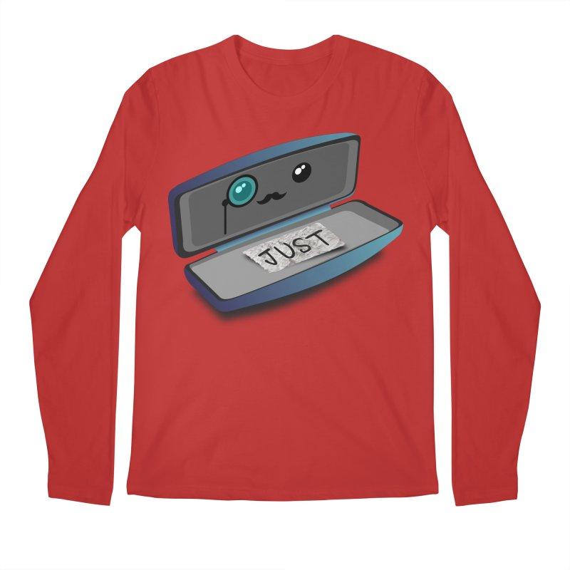 Just in case Men's Regular Longsleeve T-Shirt by ZuniReds's Artist Shop