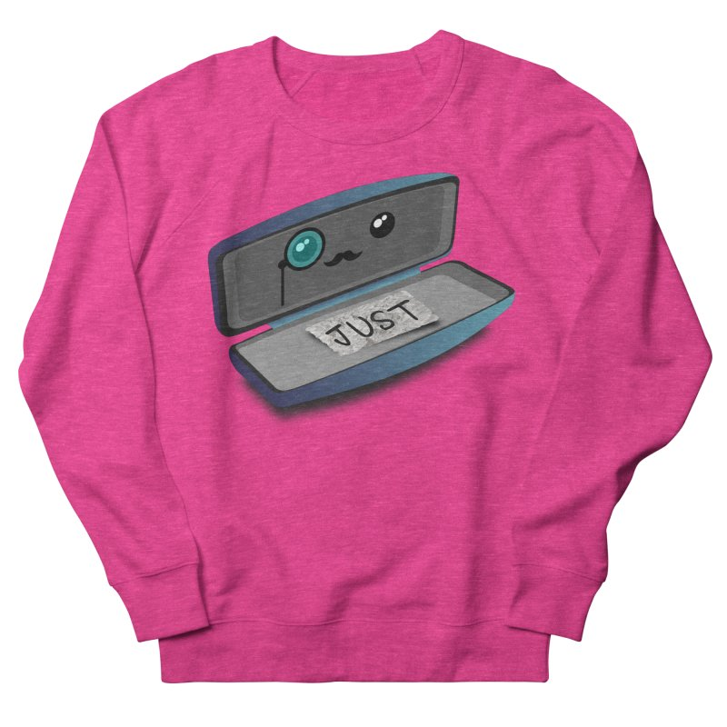 Just in case Men's French Terry Sweatshirt by ZuniReds's Artist Shop