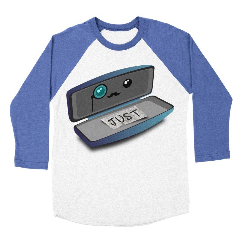 Just in case Men's Baseball Triblend Longsleeve T-Shirt by ZuniReds's Artist Shop