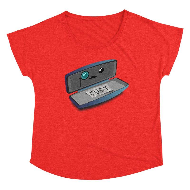 Just in case Women's Scoop Neck by ZuniReds's Artist Shop