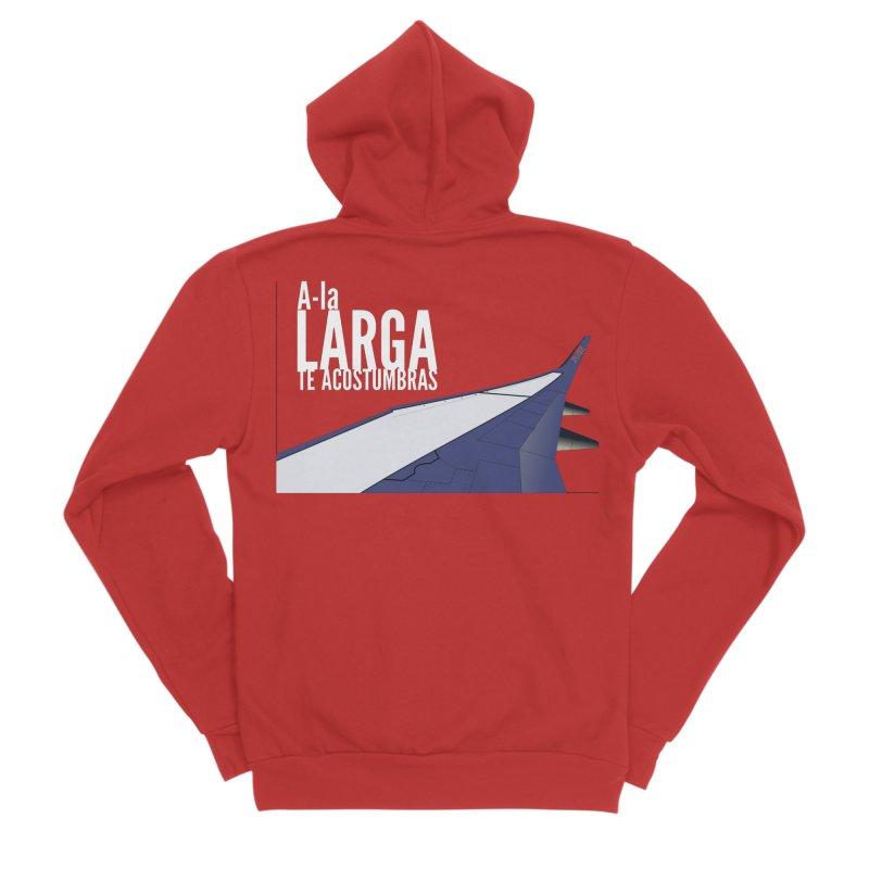 Ala Larga te acostumbras Men's Zip-Up Hoody by ZuniReds's Artist Shop