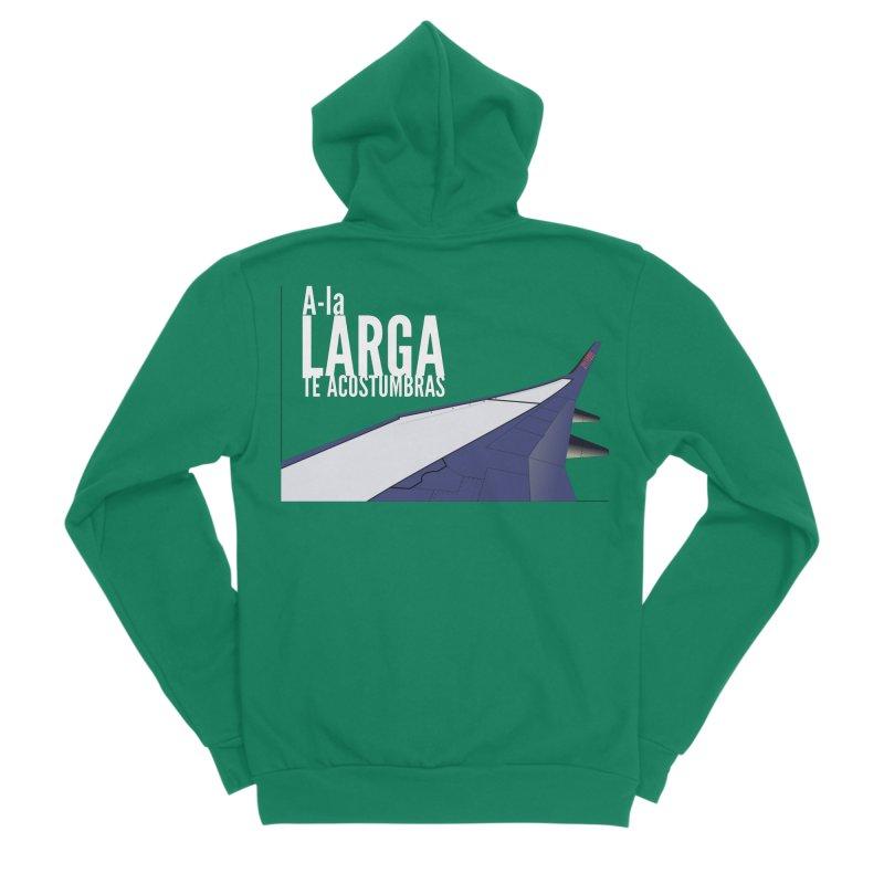 Ala Larga te acostumbras Women's Zip-Up Hoody by ZuniReds's Artist Shop