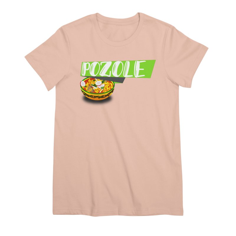 Pozzzole Women's Premium T-Shirt by ZuniReds's Artist Shop