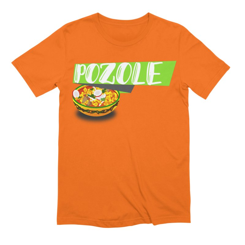 Pozzzole Men's Extra Soft T-Shirt by ZuniReds's Artist Shop