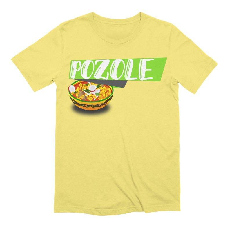 Pozzzole Men's Extra Soft T-Shirt by ZuniReds's Artist Shop