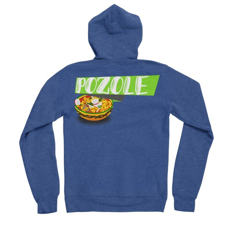Pozzzole Men's Zip-Up Hoody by ZuniReds's Artist Shop