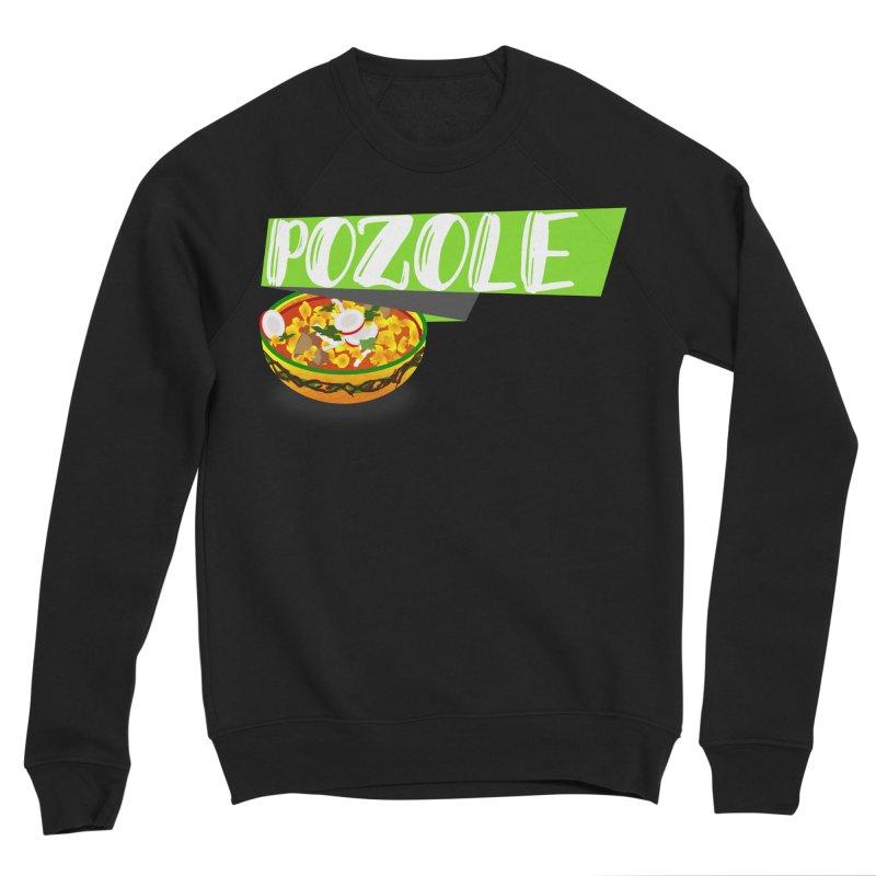 Pozzzole Men's Sponge Fleece Sweatshirt by ZuniReds's Artist Shop