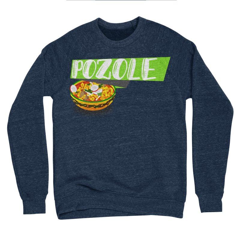 Pozzzole Women's Sponge Fleece Sweatshirt by ZuniReds's Artist Shop