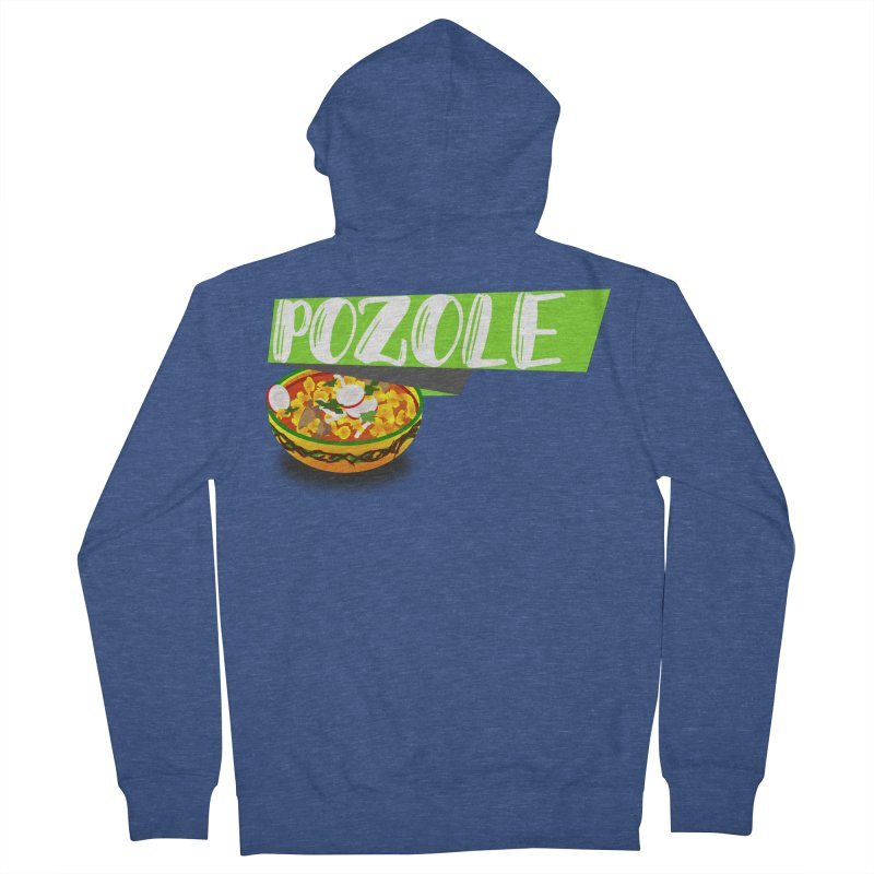 Pozzzole Men's Zip-Up Hoody by ZuniReds's Artist Shop
