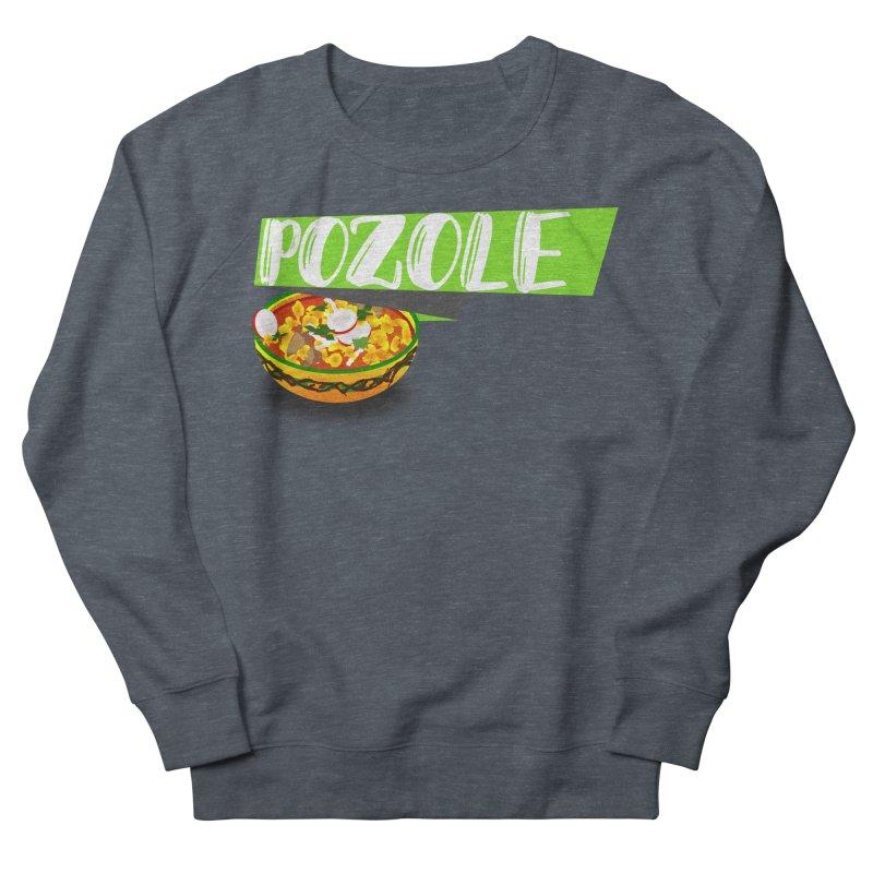 Pozzzole Women's French Terry Sweatshirt by ZuniReds's Artist Shop