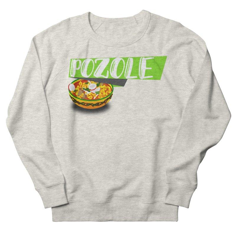 Pozzzole Men's French Terry Sweatshirt by ZuniReds's Artist Shop