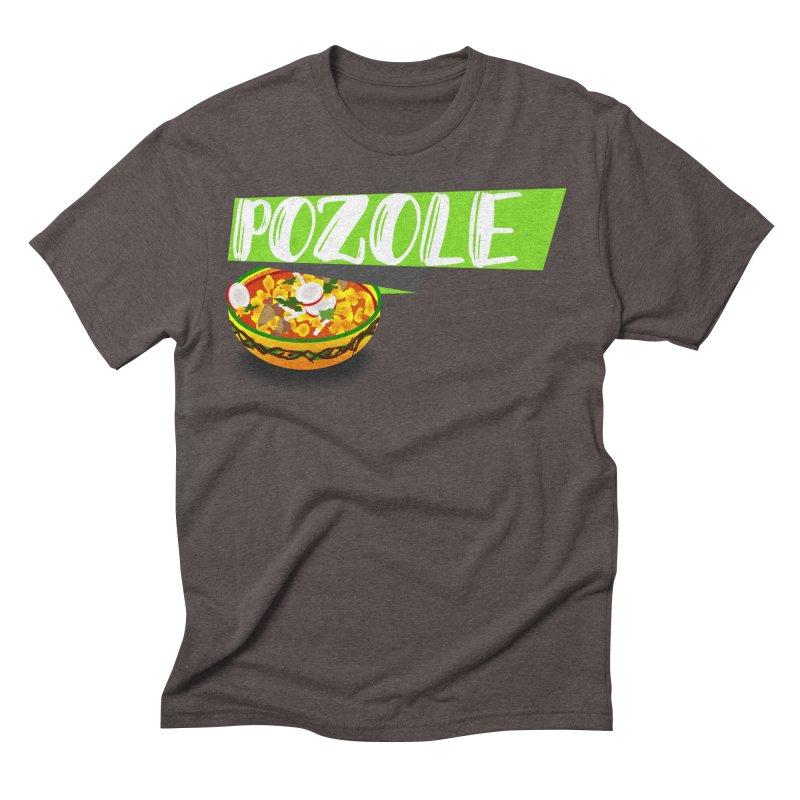 Pozzzole Men's Triblend T-Shirt by ZuniReds's Artist Shop