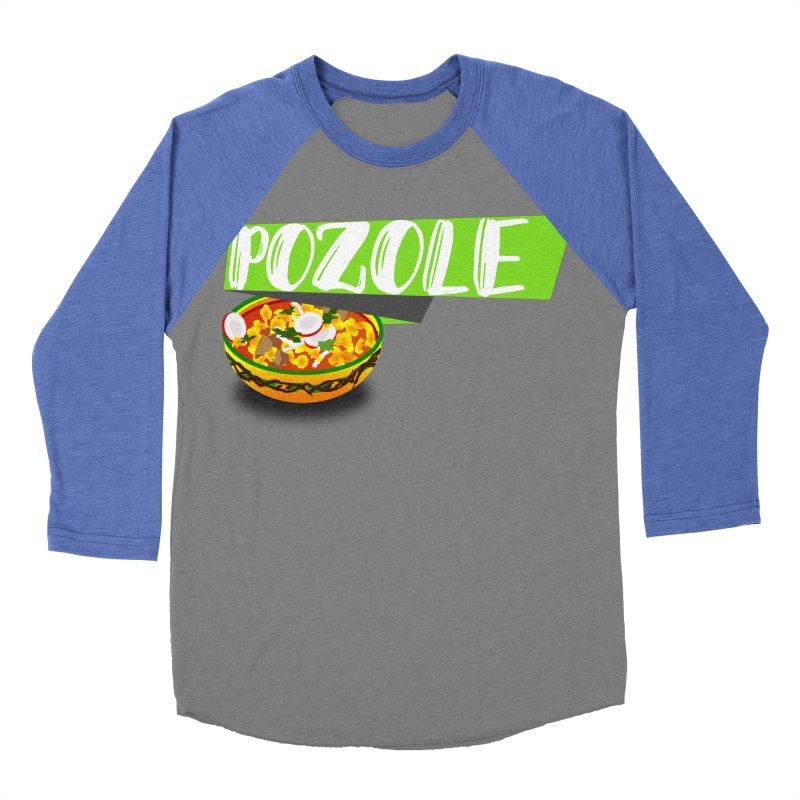 Pozzzole Women's Baseball Triblend Longsleeve T-Shirt by ZuniReds's Artist Shop