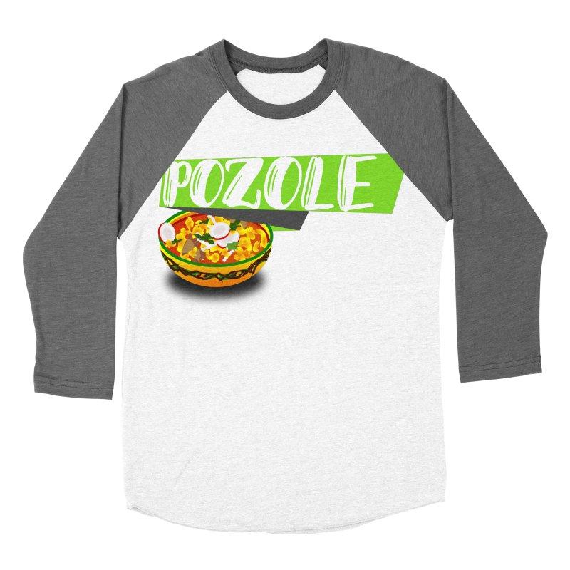 Pozzzole Men's Baseball Triblend Longsleeve T-Shirt by ZuniReds's Artist Shop