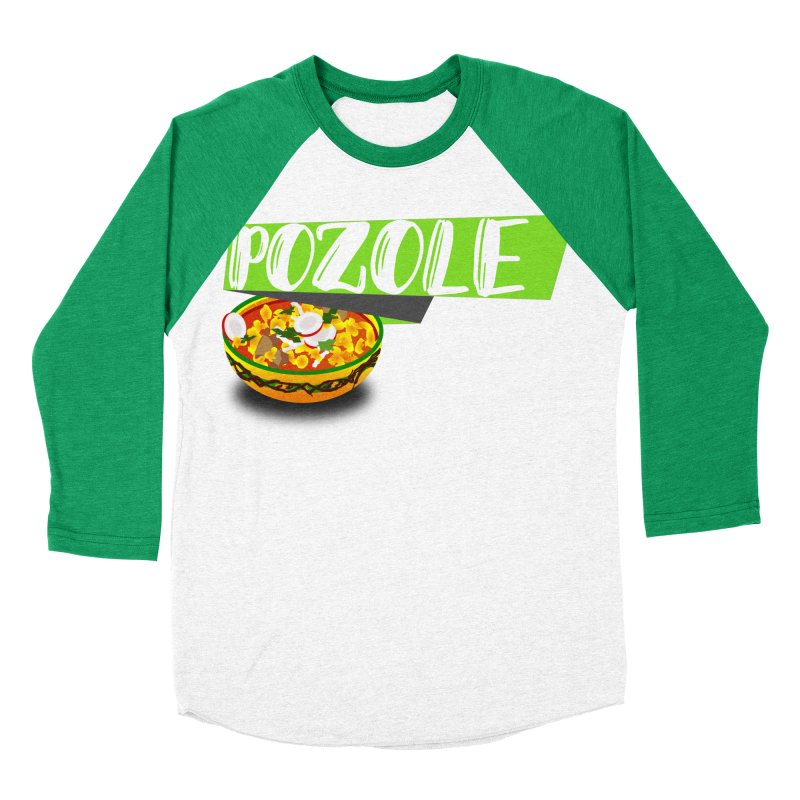 Pozzzole Men's Baseball Triblend Longsleeve T-Shirt by ZuniReds's Artist Shop