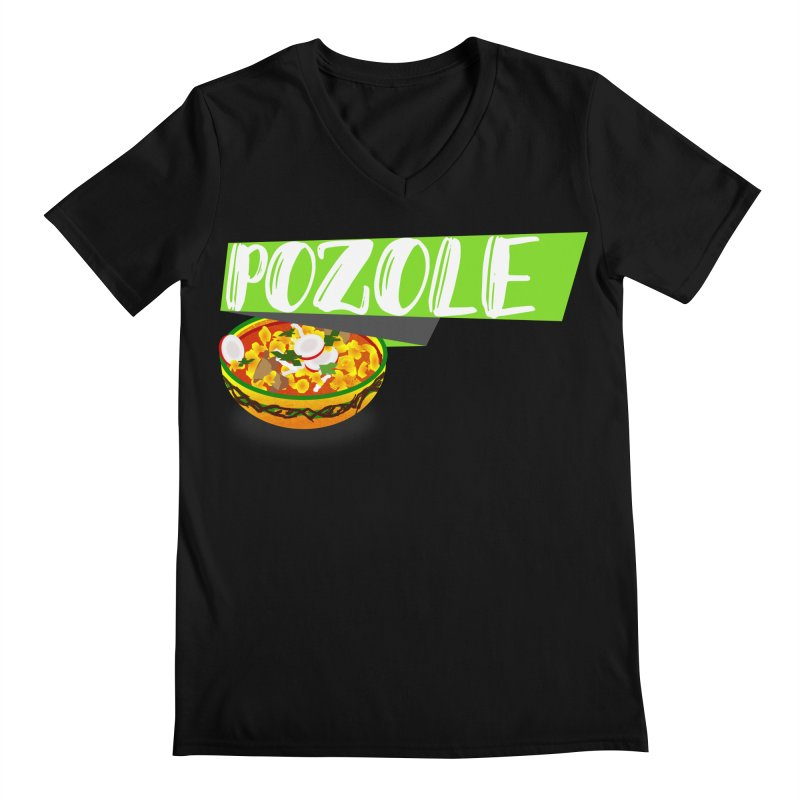 Pozzzole Men's V-Neck by ZuniReds's Artist Shop