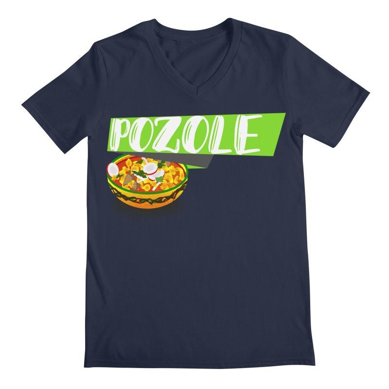 Pozzzole Men's Regular V-Neck by ZuniReds's Artist Shop