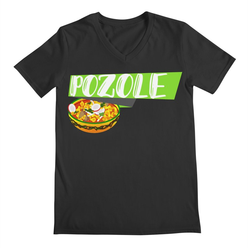 Pozzzole Men's Regular V-Neck by ZuniReds's Artist Shop