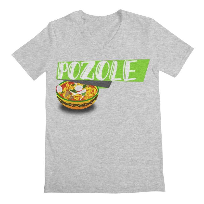 Pozzzole Men's V-Neck by ZuniReds's Artist Shop