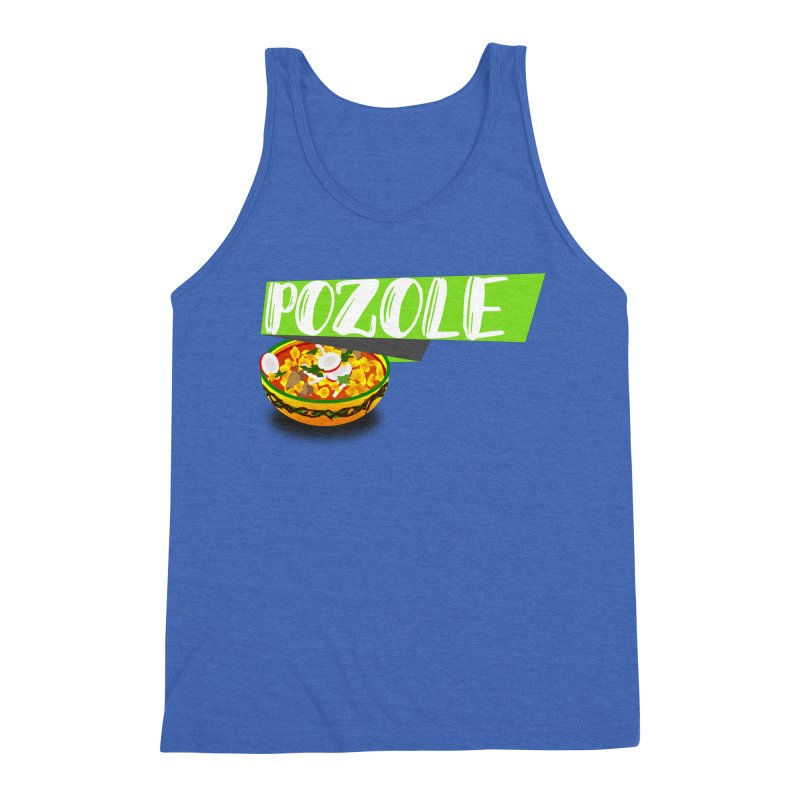 Pozzzole Men's Triblend Tank by ZuniReds's Artist Shop