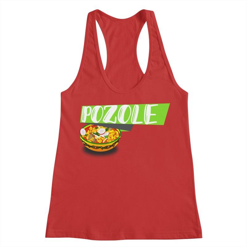 Pozzzole Women's Racerback Tank by ZuniReds's Artist Shop