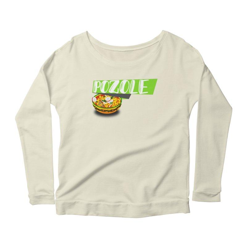 Pozzzole Women's Scoop Neck Longsleeve T-Shirt by ZuniReds's Artist Shop