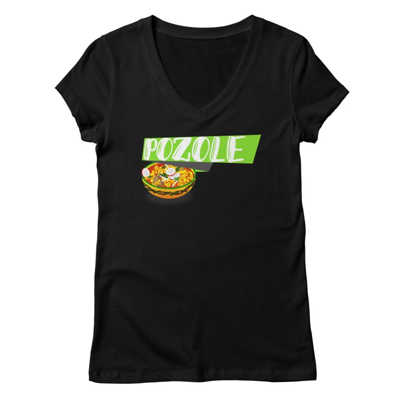 Pozzzole Women's V-Neck by ZuniReds's Artist Shop