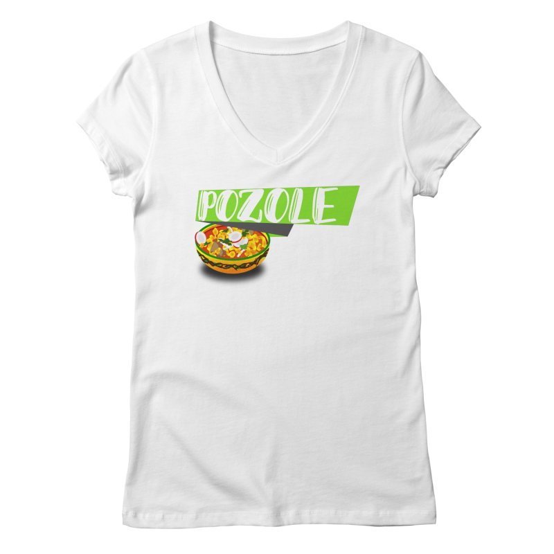 Pozzzole Women's Regular V-Neck by ZuniReds's Artist Shop