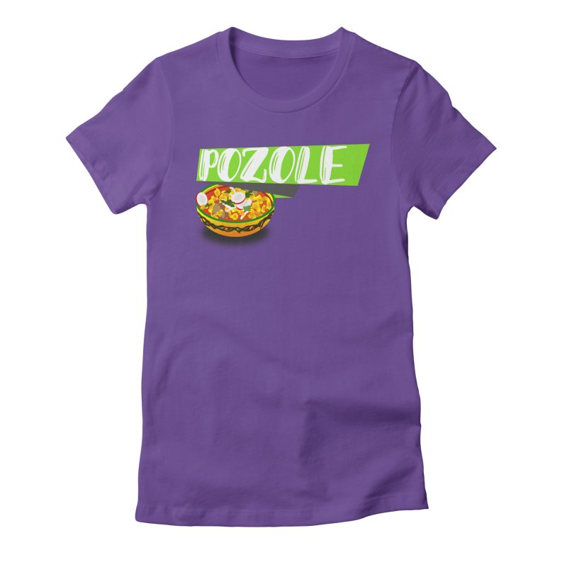 Pozzzole Women's Fitted T-Shirt by ZuniReds's Artist Shop
