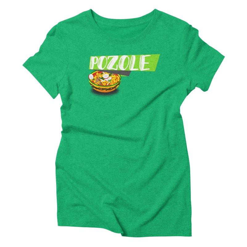Pozzzole Women's Triblend T-Shirt by ZuniReds's Artist Shop