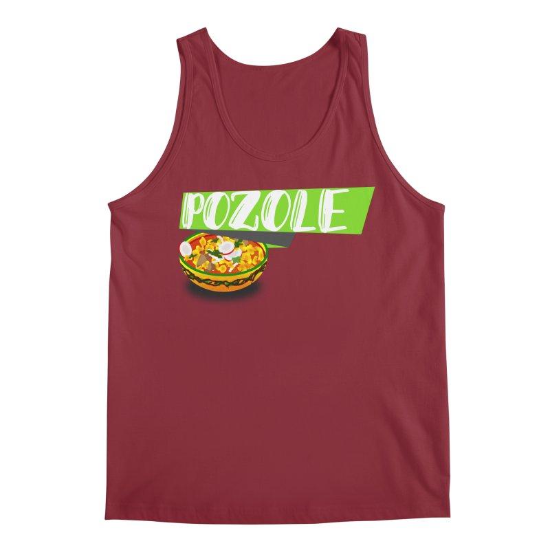 Pozzzole Men's Regular Tank by ZuniReds's Artist Shop