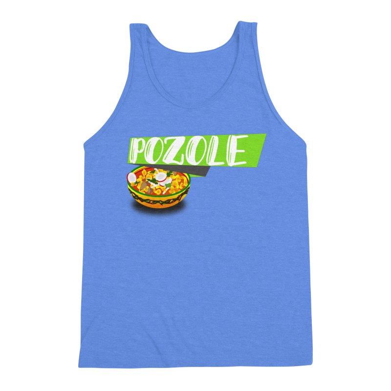 Pozzzole Men's Triblend Tank by ZuniReds's Artist Shop