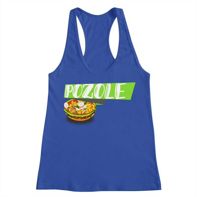 Pozzzole Women's Racerback Tank by ZuniReds's Artist Shop