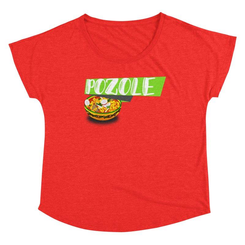 Pozzzole Women's Scoop Neck by ZuniReds's Artist Shop