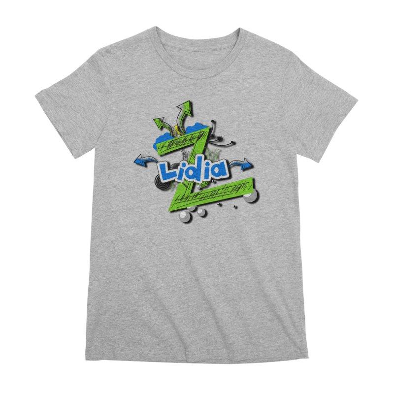 Lidia Women's Premium T-Shirt by ZuniReds's Artist Shop