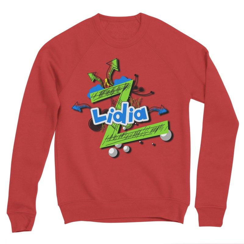 Lidia Men's Sponge Fleece Sweatshirt by ZuniReds's Artist Shop