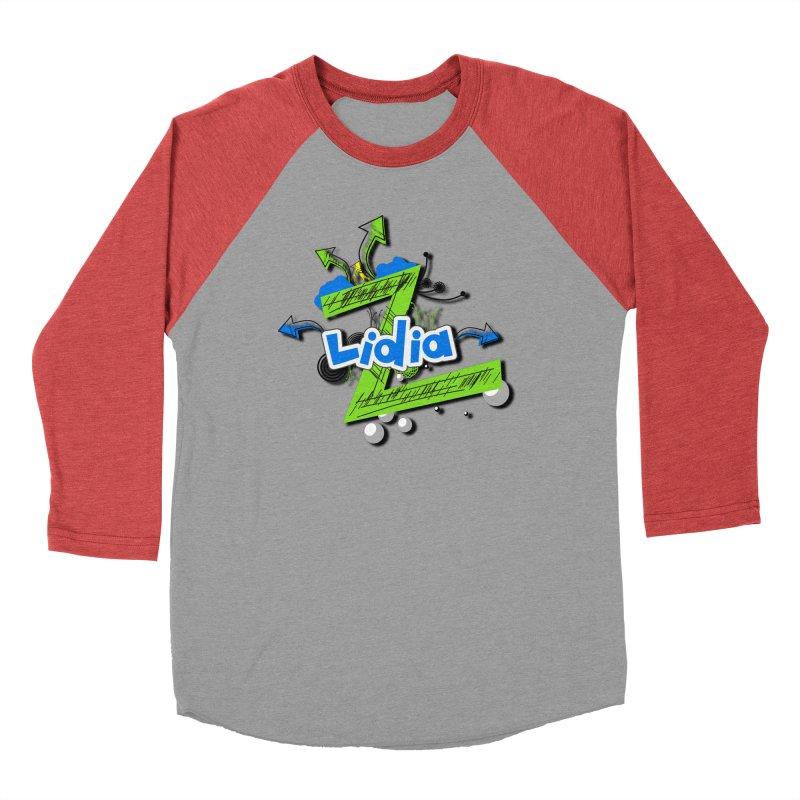 Lidia Women's Baseball Triblend Longsleeve T-Shirt by ZuniReds's Artist Shop