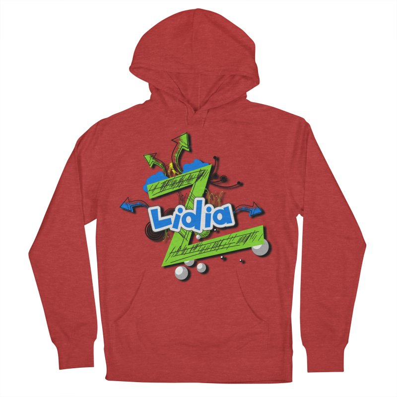 Lidia Women's French Terry Pullover Hoody by ZuniReds's Artist Shop