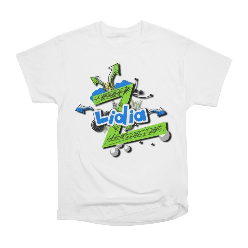 Lidia Women's Heavyweight Unisex T-Shirt by ZuniReds's Artist Shop